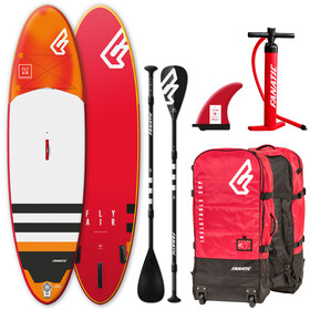 """Fanatic Fly Air Premium Package 09'8"""" Inflatable Sup with Paddles and Pump none"""